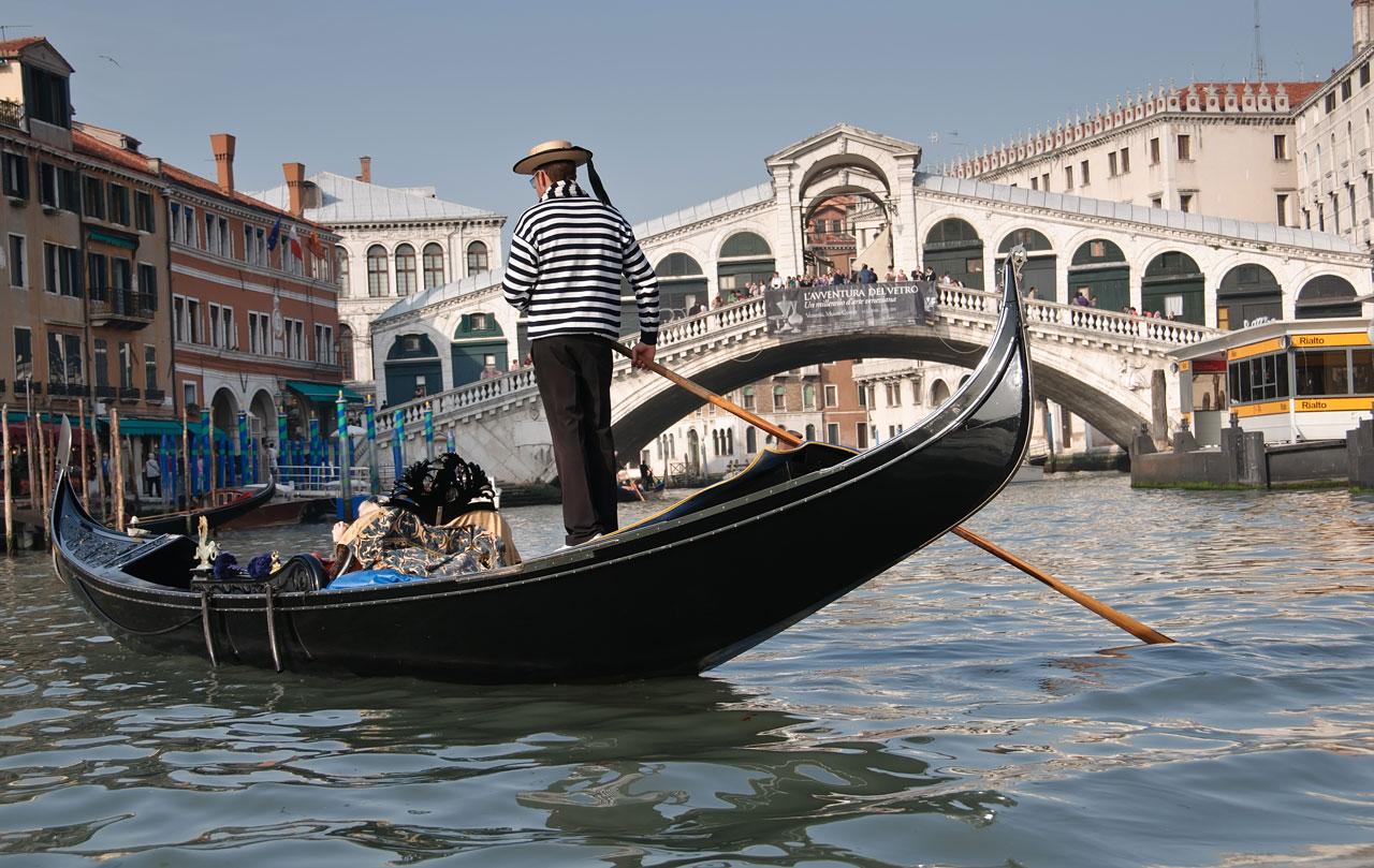 Venice-gondolier