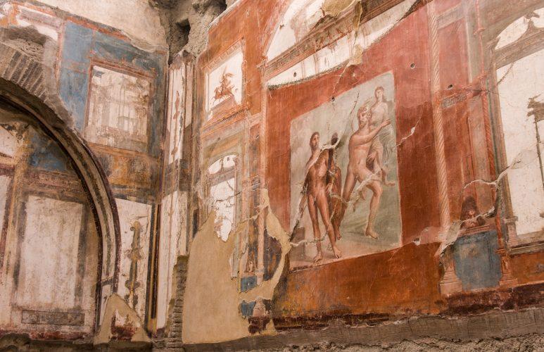 Ancient Herculaneum ruins Naples, Italy