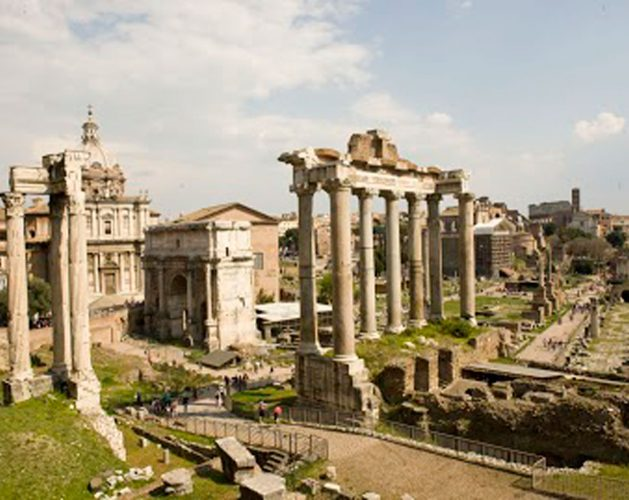 Sunset-Coliseum-and-Roman-Forum-Small-Group