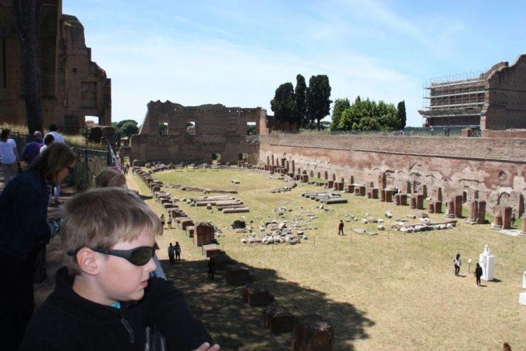 ancient rome tour for families