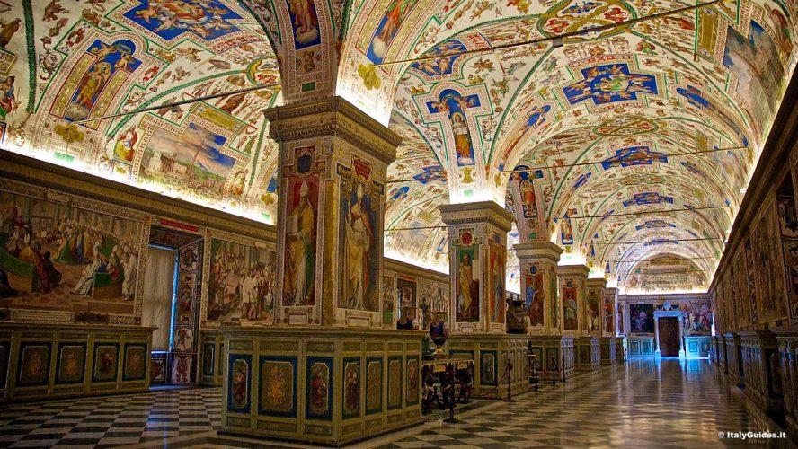 vatican museums gallery